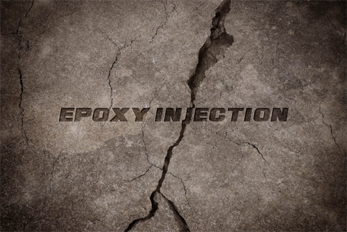 Epoxy Injection  is used to repair foundation.